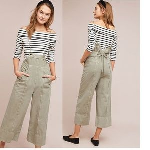 Anthropologie Pilcro Bibbed Pants